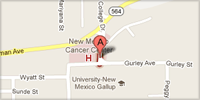 small image of unm gallup campus location google map image Copyright Google 2012