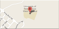 small image of unm rio rancho campus location google map image Copyright Google 2012